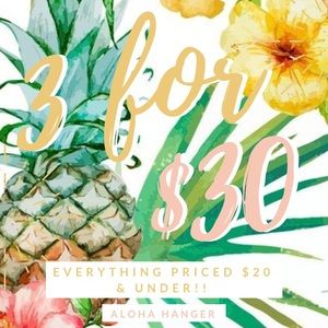Other - 3 for $30! Read Rules! 🍍